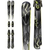 K2 AMP 80 XTi Skis + MXC 12 Bindings 2015