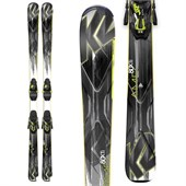 K2 AMP 80XTi Skis + MXC 12 Bindings 2015