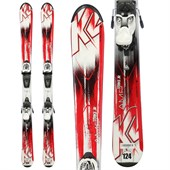 K2 Strike Jr + Fastrak2 7 Bindings - Big Boys' 2015