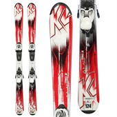 K2 Strike Jr + Fastrak2 4.5 Bindings - Big Boys' 2015