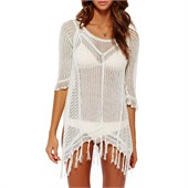L*Space Vista Fringe Beach Sweater - Women's