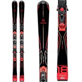 Rossignol Pursuit 18 Skis + Axial3 120 Bindings 2015