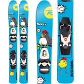 Rossignol Roostie Ski + Comp Kid 25 Bindings 2015