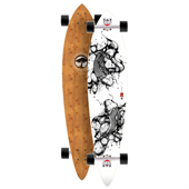Arbor Fish Bamboo Longboard Complete