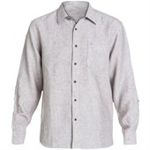 Quiksilver Burgess Isle Long-Sleeve Button-Down Shirt