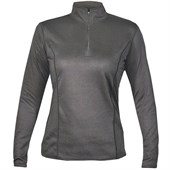 Hot Chillys Pepper Bi-Ply Zip-Neck Top - Women's