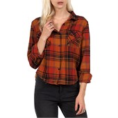 Volcom Desert Coast Long-Sleeve Button-Down Shirt - Women's