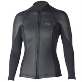 XCEL 2/1mm Makaha Smoothskin Front Zip L/S Wetsuit Jacket - Women's