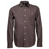 Volcom Everett Solid Long-Sleeve Button-Down Shirt