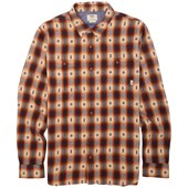 Vans Huffman Long-Sleeve Button-Down Flannel Shirt