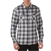 Vans Monterey Long-Sleeve Button-Down Flannel Shirt