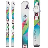 Atomic Cool Minx Skis + Easytrak2 Bindings - Women's 2015
