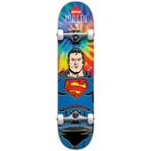 Almost Mullen Superman Tie Dye 7.75 Skateboard Complete