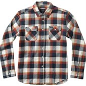 RVCA Telltale Long-Sleeve Button-Down Flannel