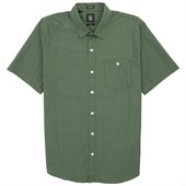 Volcom Everett Solid Short-Sleeve Button-Down Shirt