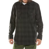 Obey Clothing Huddle Long-Sleeve Button-Down Shirt