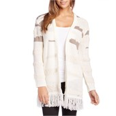 Obey Clothing Findon Sweater Cardigan - Women's