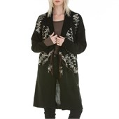 Obey Clothing Coven Cardigan Sweater Coat - Women's