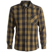 Quiksilver Motherfly Long-Sleeve Button-Down Flannel Shirt