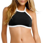 Seafolly Block Party High Neck Tank Bikini Top - Women's