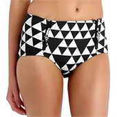 Seafolly Costa Maya High Waisted Bikini Bottom - Women's