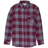 Vissla Alpha Check Long-Sleeve Button-Down Flannel