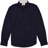 Deus Ex Machina Albie Brushed Long-Sleeve Button-Down Shirt