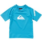 Quiksilver All Time Short-Sleeve Rashguard - Little Boys'
