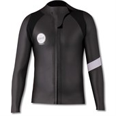 Almond Surfboards 2mm Black Smoothie Wetsuit Jacket