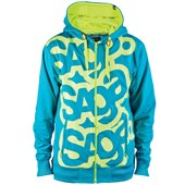 Saga Triple Stack Zip-Up Hoodie