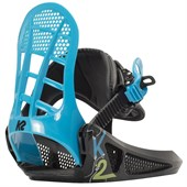 K2 Mini Turbo Snowboard Bindings - Little Boys' 2016