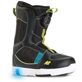 K2 Mini Turbo Snowboard Boots - Little Boys' 2016