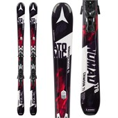Atomic Nomad Crimson Ti Skis + XTO 12 Bindings 2016