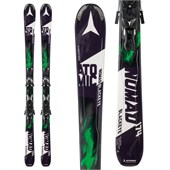 Atomic Nomad Blackeye Skis + XTO 12 Bindings 2016