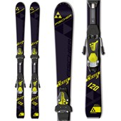 Fischer RC4 Jr Race Skis + FJ4 AC Jr Rail Bindings - Boys' 2016