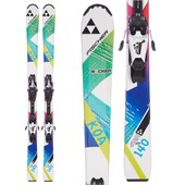 Fischer Koa Jr Rail + FJ7 AC Jr Rail Bindings - Girls' 2016