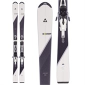 Fischer Aspire Track Skis + W9 Womantrack Bindings - Women's 2016