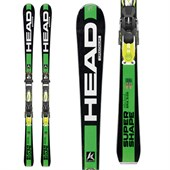 Head i.Supershape Magnum Skis + PRX 12 Bindings 2016