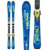 Head Natural Instinct Skis + PR 10 Bindings 2016