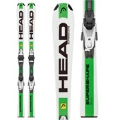 Head Supershape Team LR Skis + LRX 4.5 Bindings - Boys' 2016
