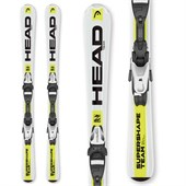 Head Supershape Team LR Skis + LRX 7.5 Bindings - Boys' 2016