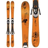 K2 Juvy Skis + Fastrak2 7 Bindings - Boys' 2016