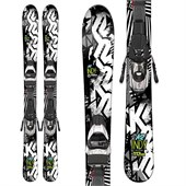 K2 Indy Skis + Fastrak2 4.5 Bindings - Boys' 2016