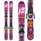 K2 Luv Bug Skis + Fastrak2 4.5 Bindings - Girls' 2016