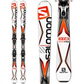 Salomon X-Drive 8.0 Ti Skis + XT12 Bindings 2016