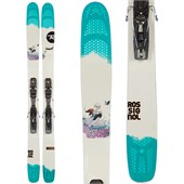 Rossignol Savory 7 Skis + Axium2 120 Demo Bindings - Used - Women's 2014