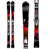 Rossignol Unique 6 Skis + Xelium Saphir 110 Bindings - Women's 2016