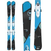 Rossignol Temptation 84 Skis + Xelium Saphir 110 Bindings - Women's 2016