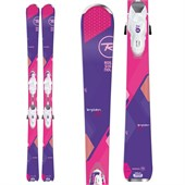 Rossignol Temptation 80 Skis + Saphir 110 Bindings - Women's 2016