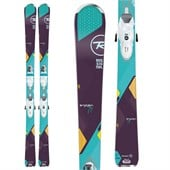 Rossignol Temptation 77 Skis + Saphir 110 Bindings - Women's 2016
